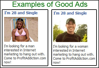 online dating site ads