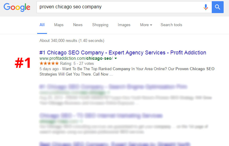 #1 Chicago SEO Company - Expert Agency Services